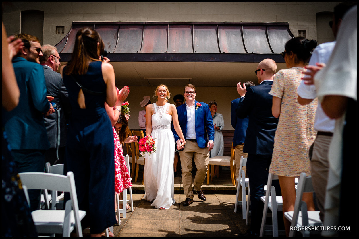 Hill Garden and Pergola wedding ceremony