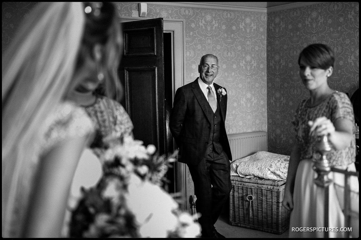 Father of the Bride at Boughton Monchelsea Place