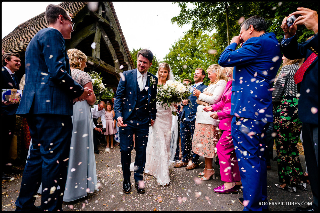 Wedding at Boughton Monchelsea Place