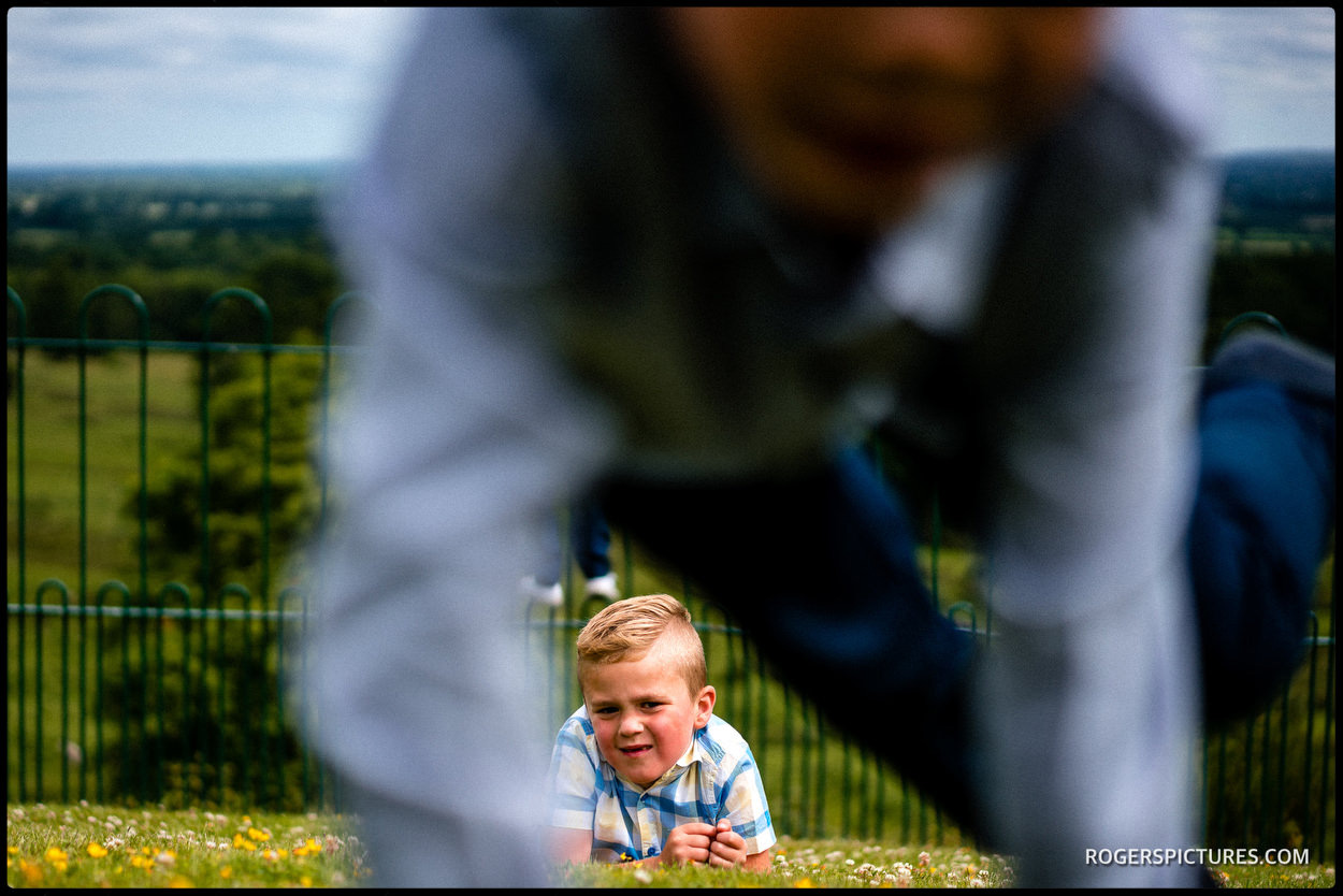 Wedding photojournalism at Boughton Monchelsea Place in Kent