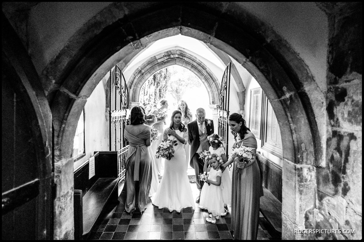 St Mary's Church in Ticehurst for a wedding