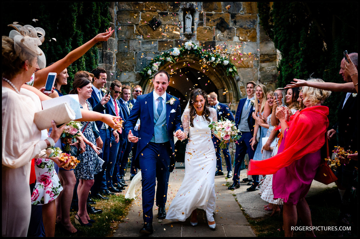 Wedding photography at Ticehurst church in Sussex