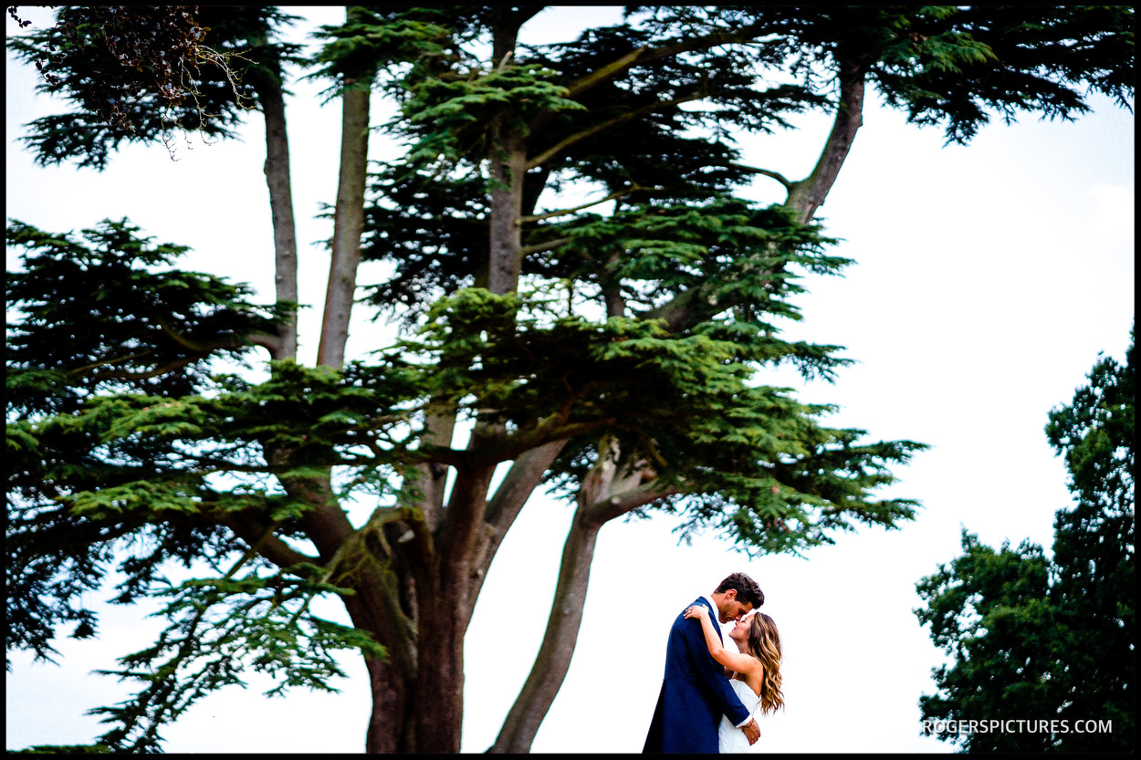 Wedding photos at Wasing Park