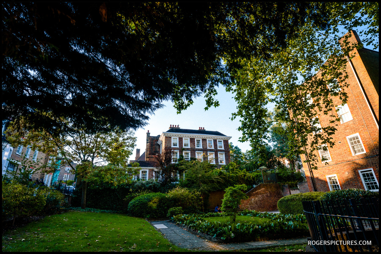 Burgh House wedding venue in North London