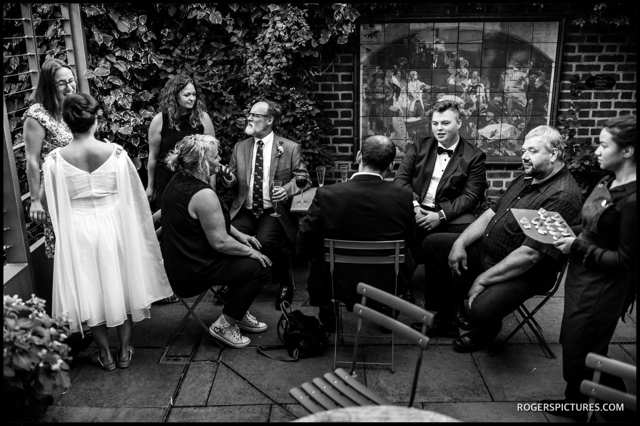 North London documentary wedding photography