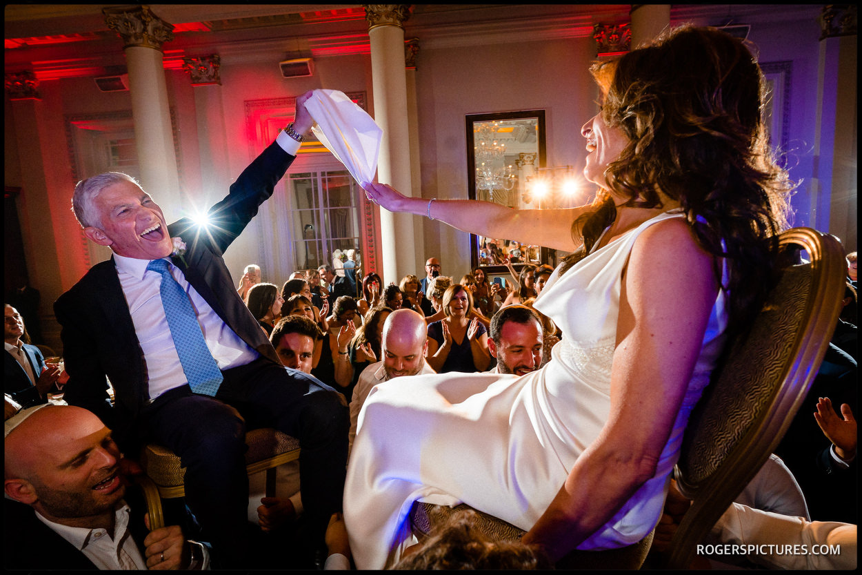 Jewish wedding dancing documentary wedding photography
