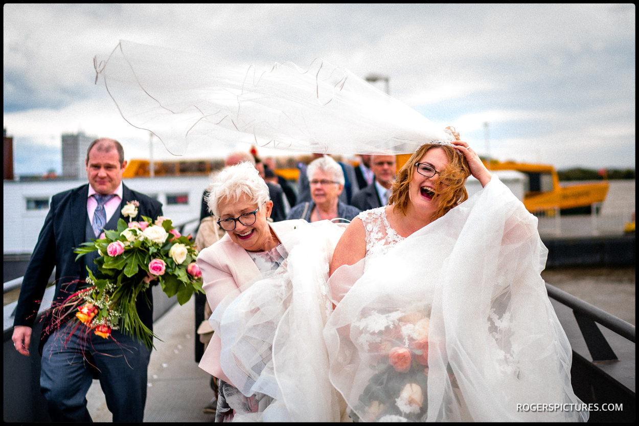 Documentary wedding photography in Germany