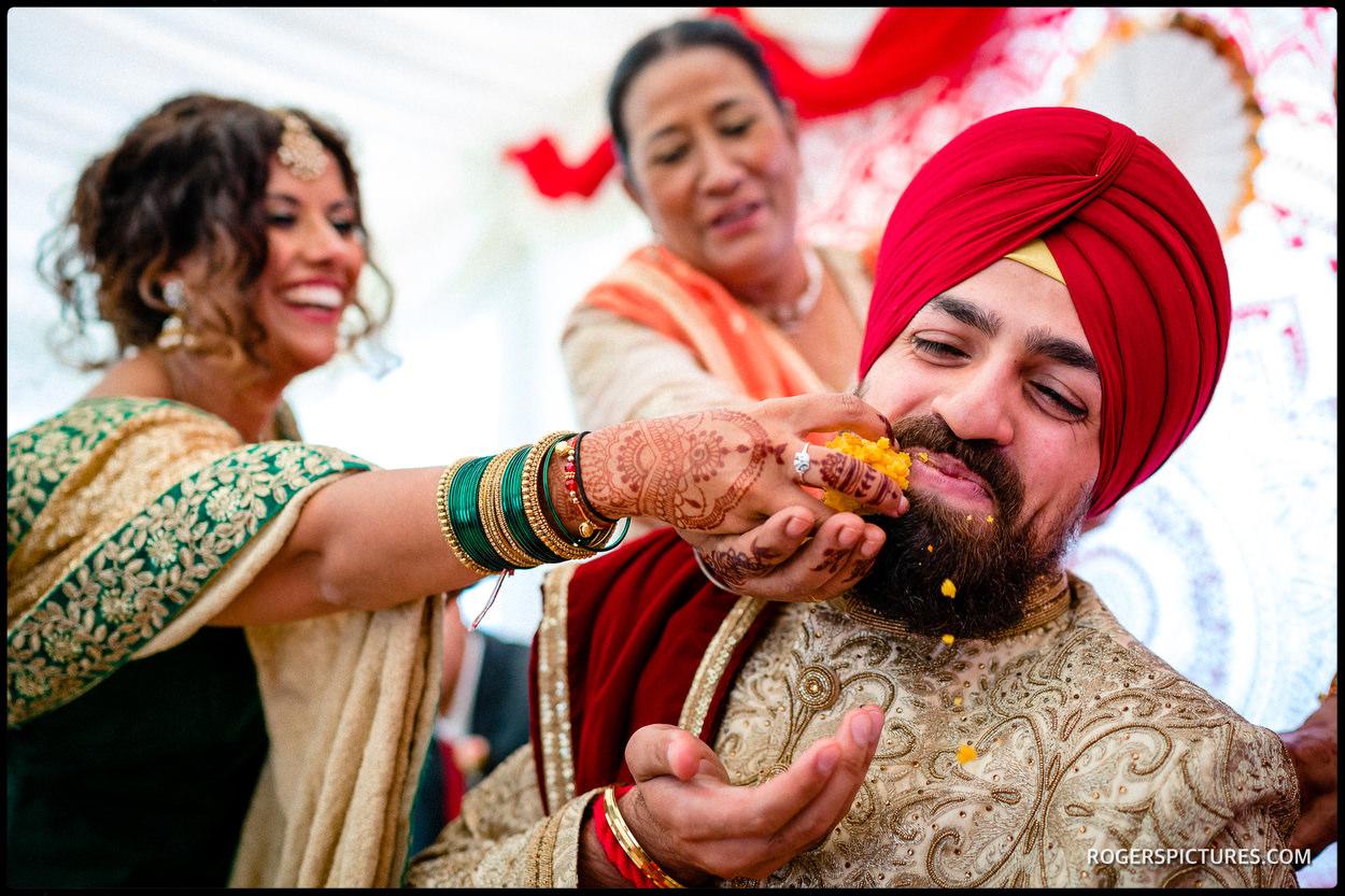 Sikh groom