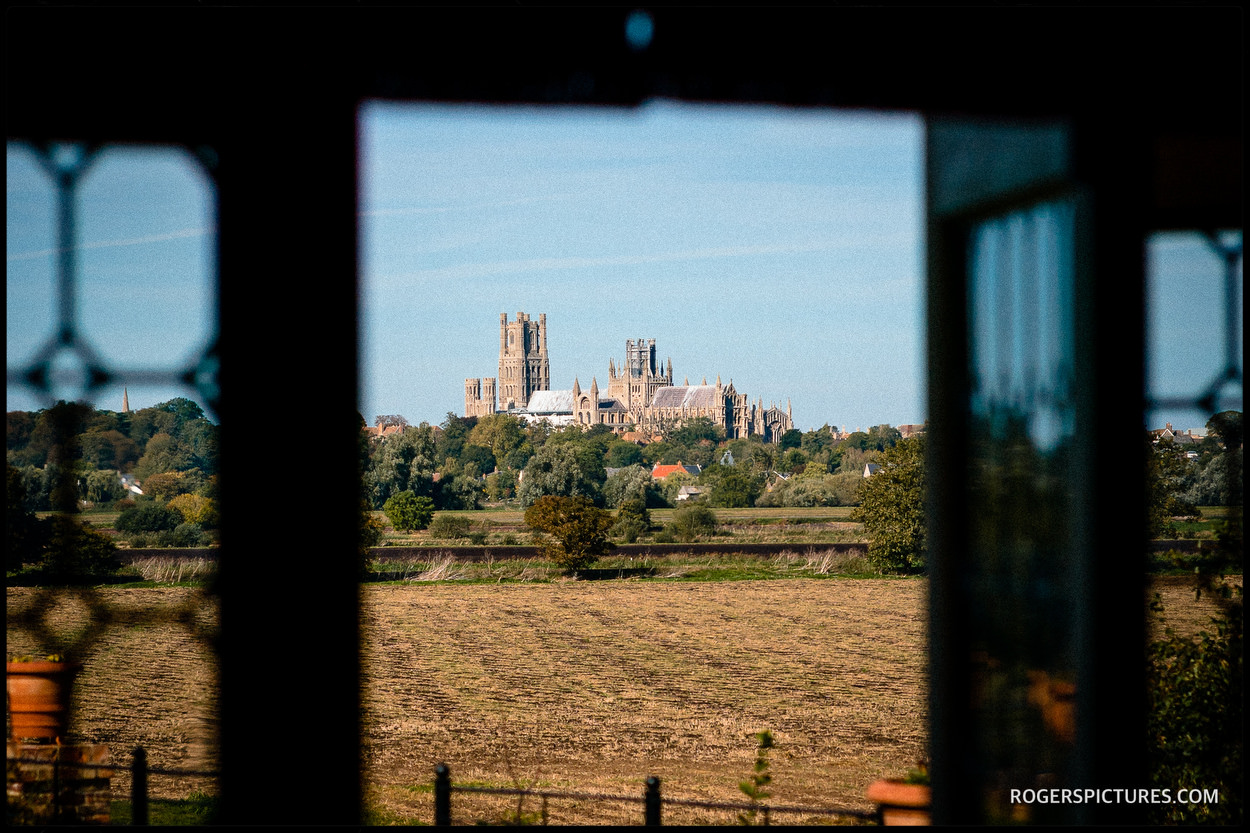 View from Old Hall Ely