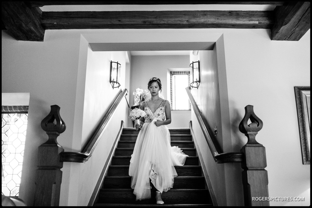 Documentary wedding photography at Old Hall Ely