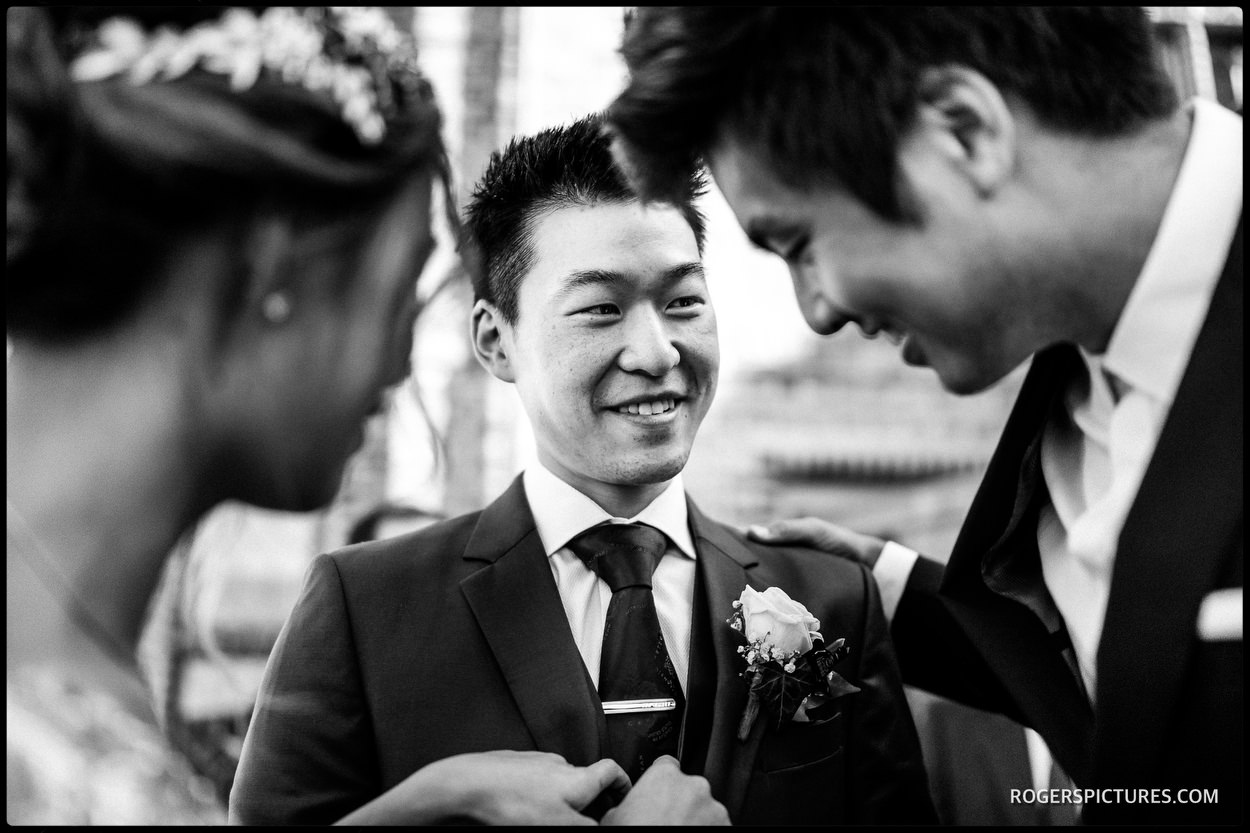 Old Hall Ely wedding photojournalism