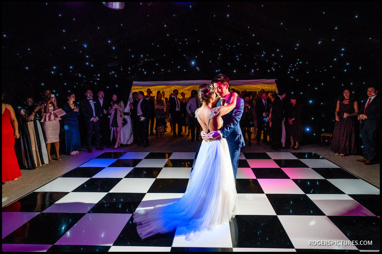 Old Hall Ely wedding first dance