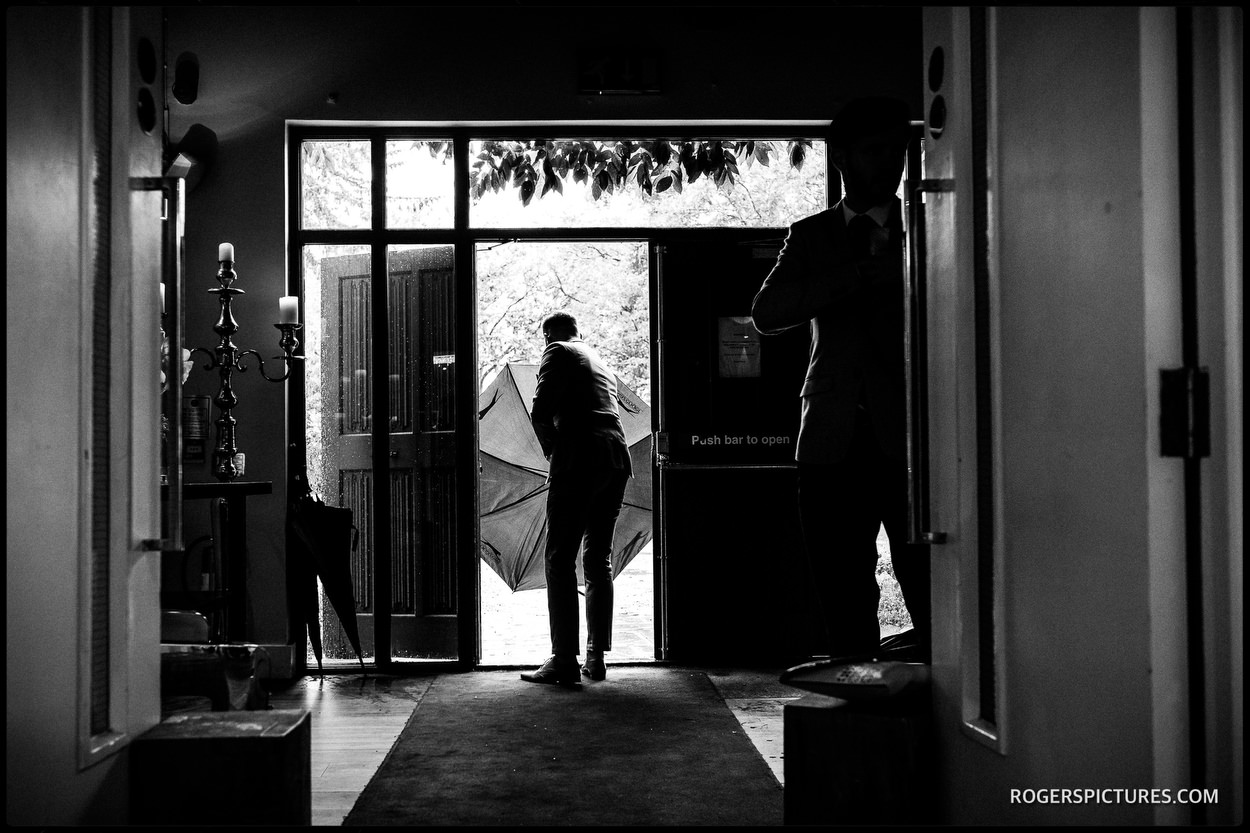 Rainy Wedding Day Photographer