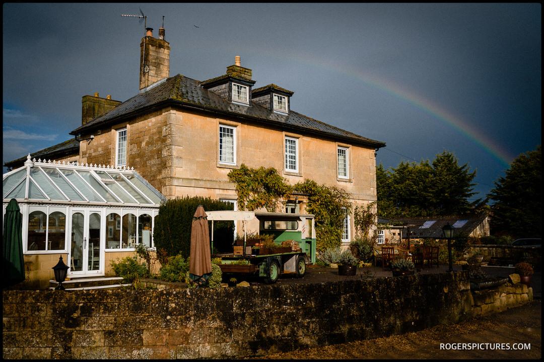 Widbrook Grange wedding venue in Wiltshire