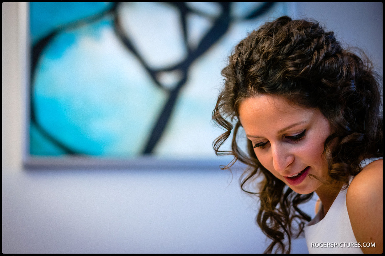 Jewish wedding bride prep