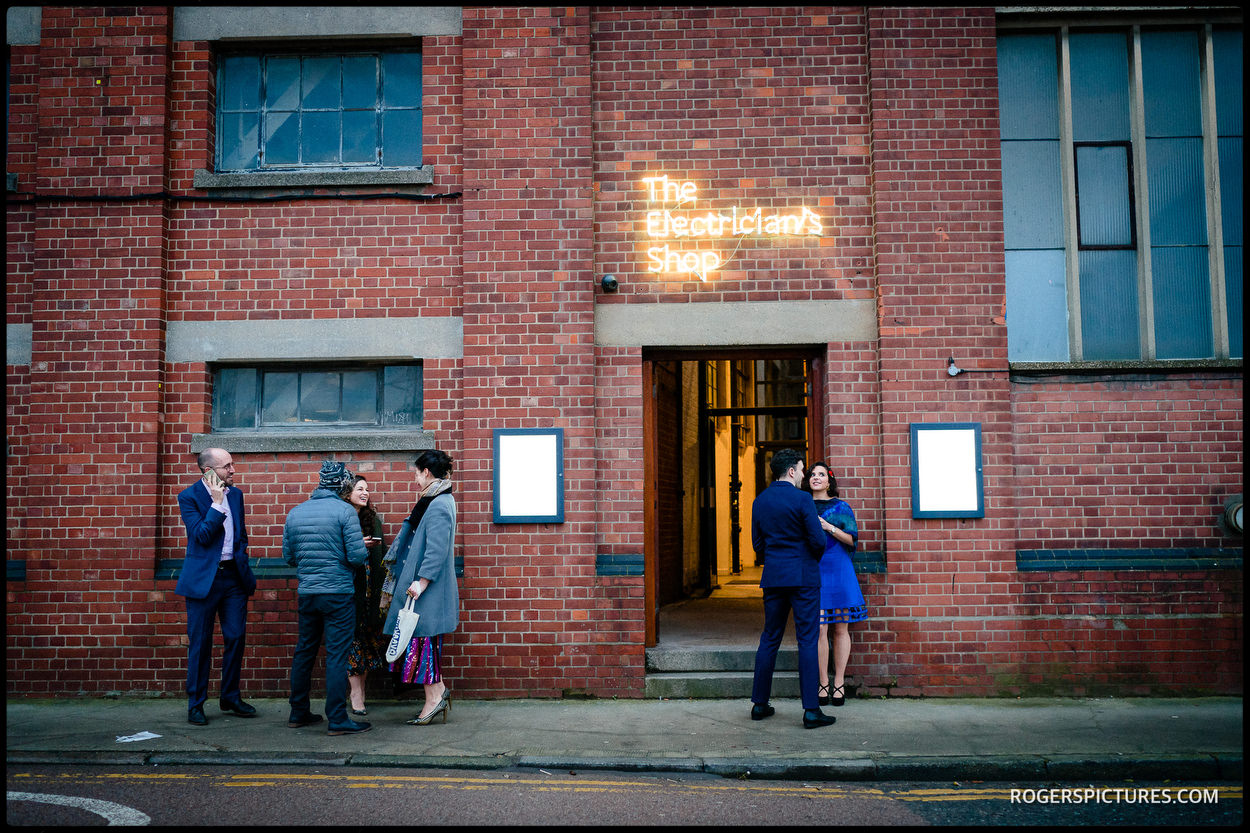 Trinity Bouy Wharf Wedding London