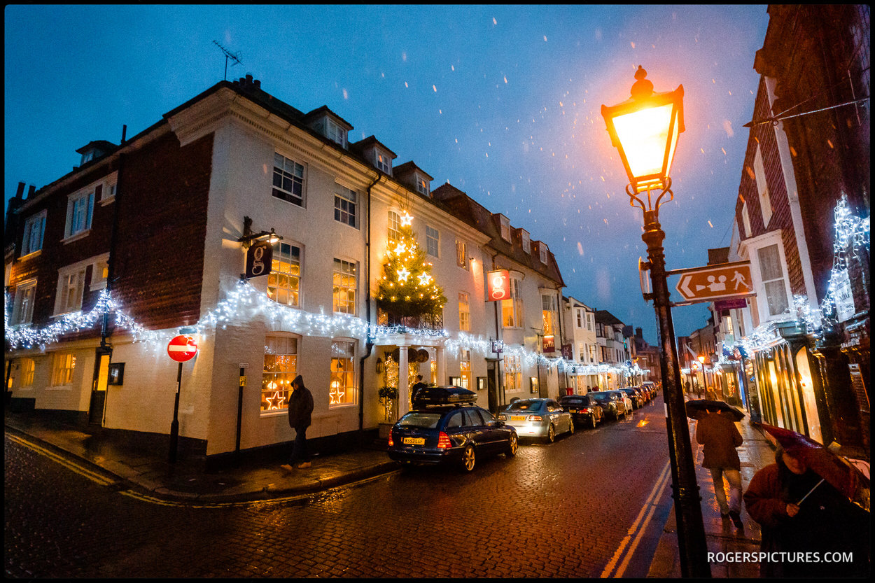 The George in Rye winter wedding venue