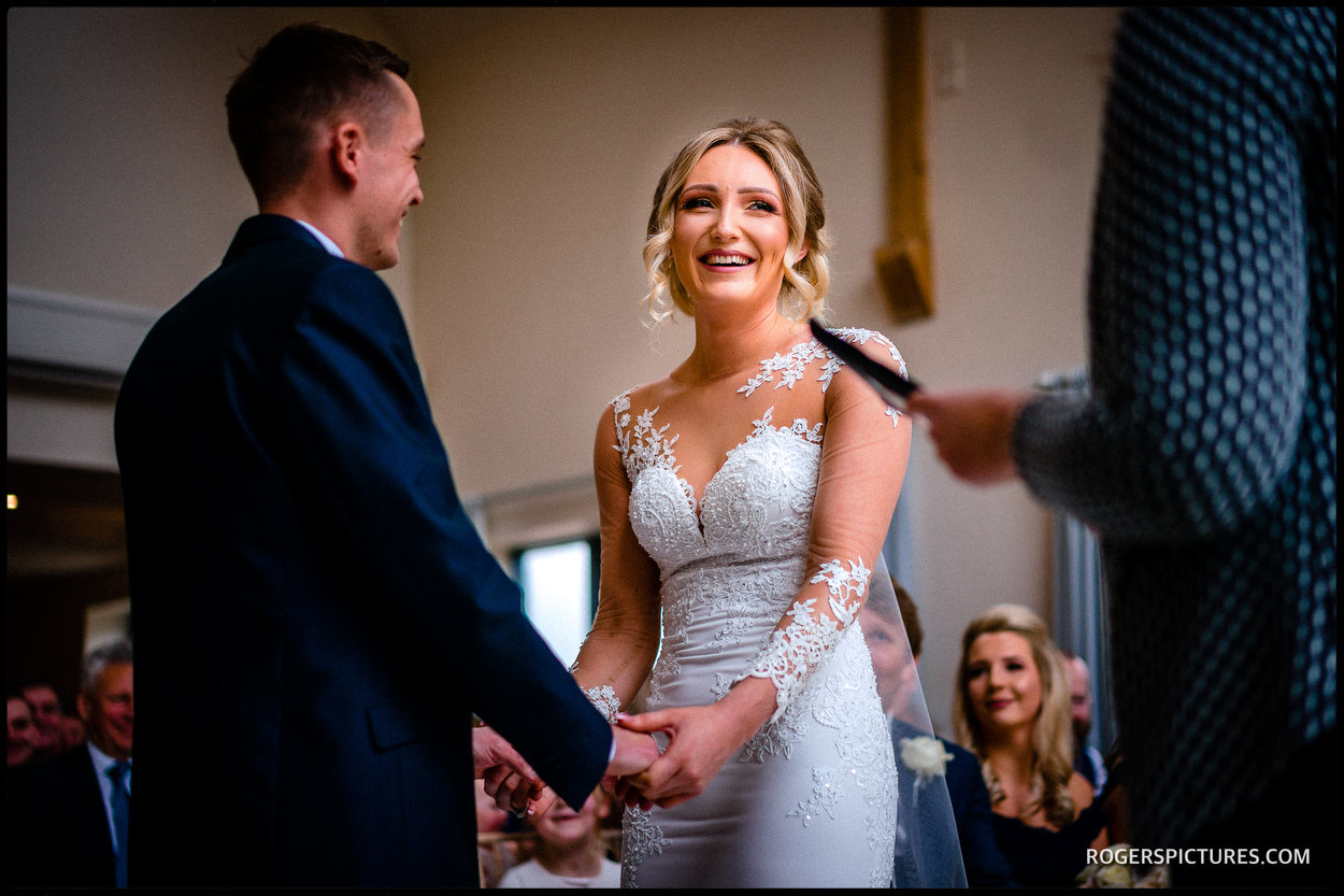 The vows at Millbridge Court Hotel