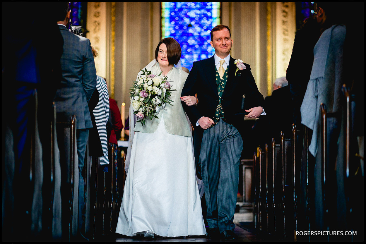 Strand wedding in London