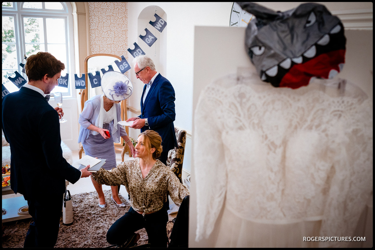 Bridal preparations at Nonsuch Mansion