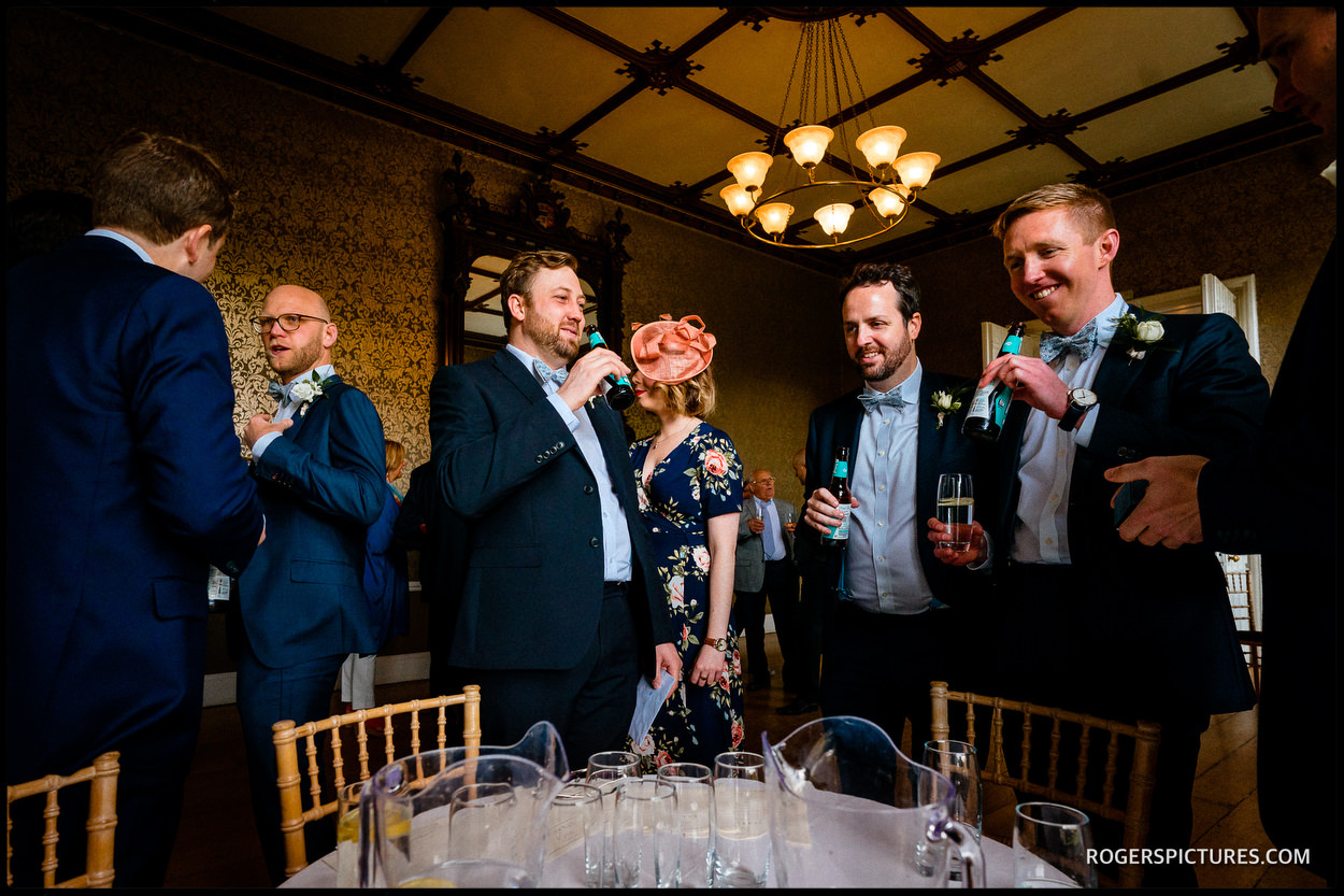 Guests at Nonsuch Mansion wedding