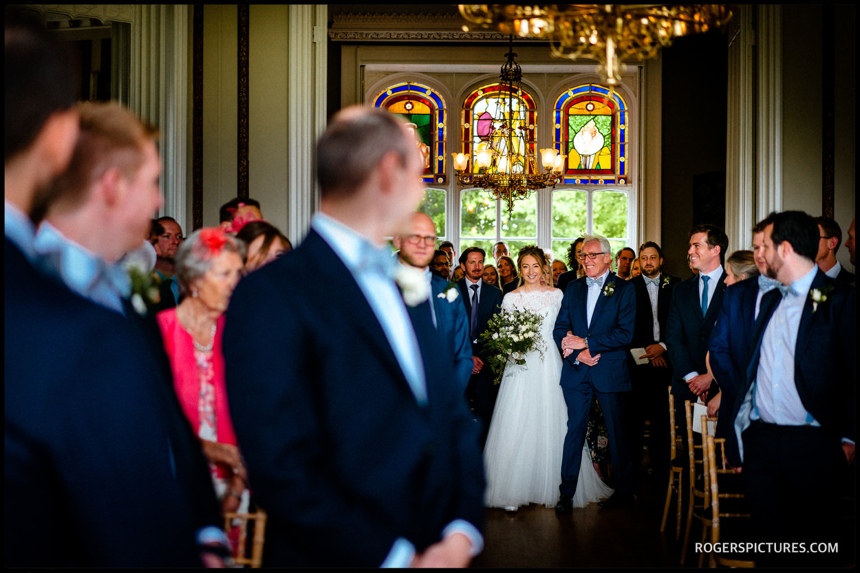 Wedding ceremony at Nonsuch Mansion