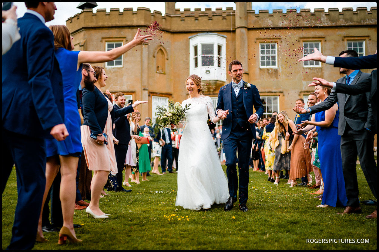 Wedding celebration at Nonsuch Mansion
