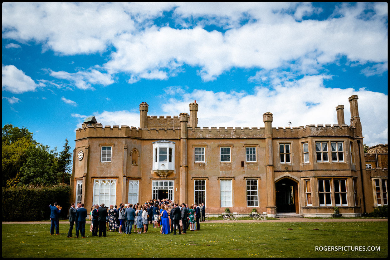 Wedding photo of Nonsuch Mansion