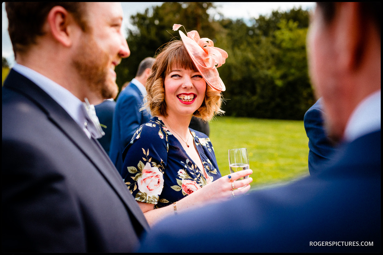 Documentary wedding photography at Nonsuch Mansion