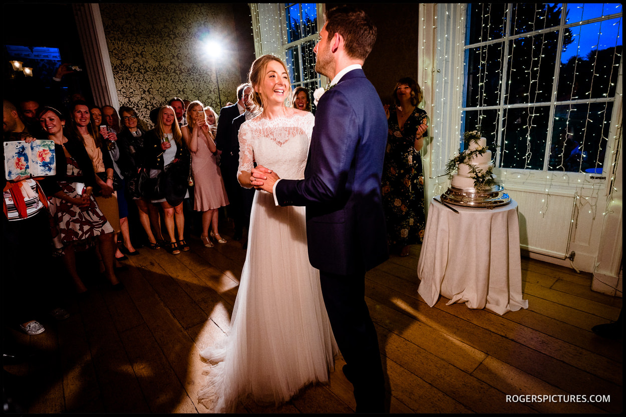 First dance at Nonsuch Mansion