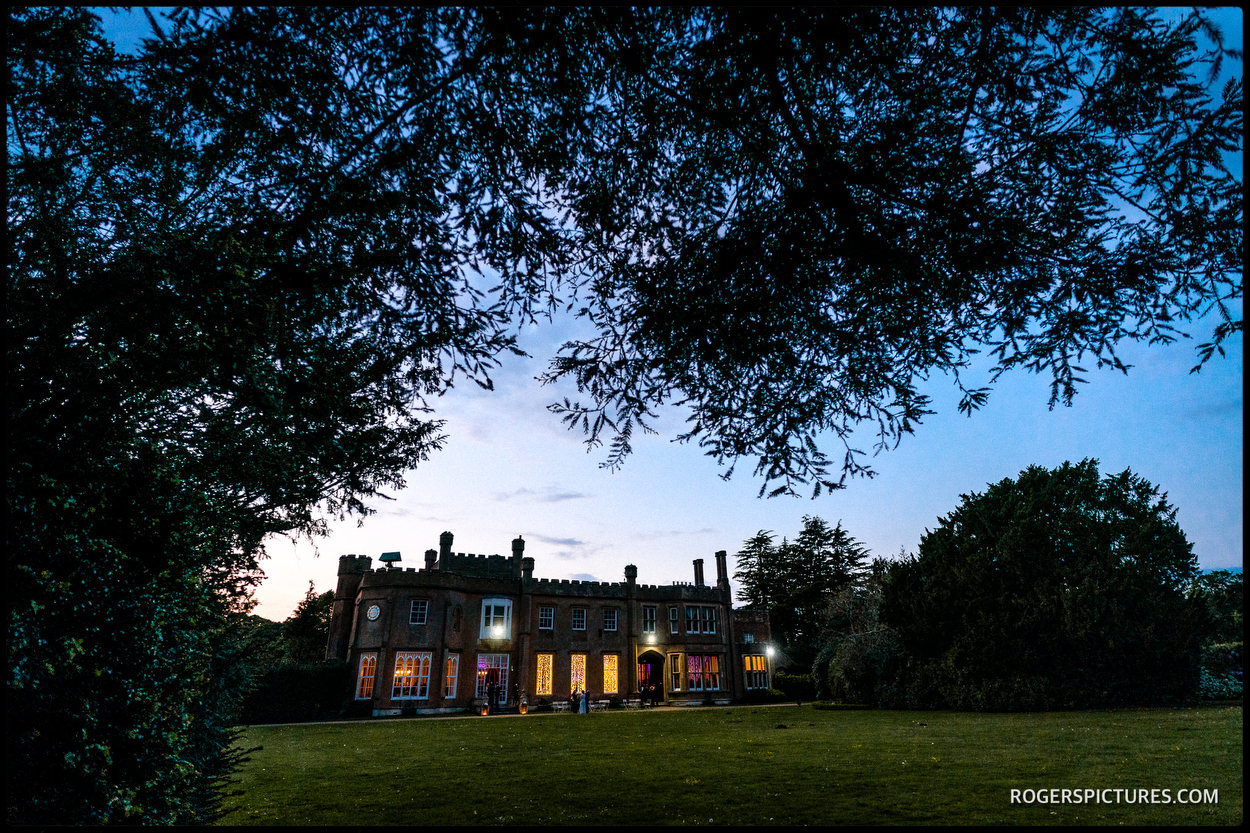 Nonsuch Mansion in the evening