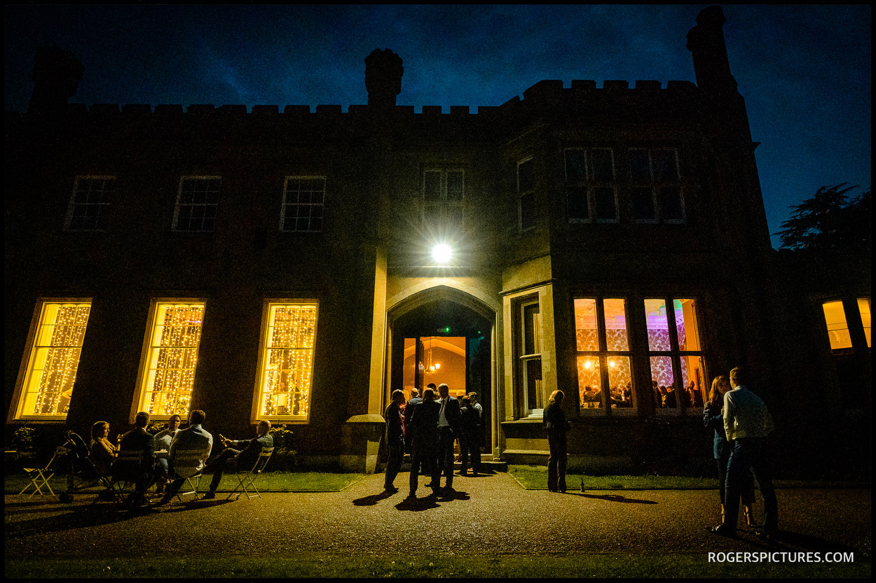 Nonsuch Mansion at night
