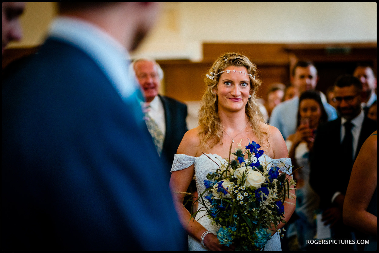South London wedding at Dulwich college