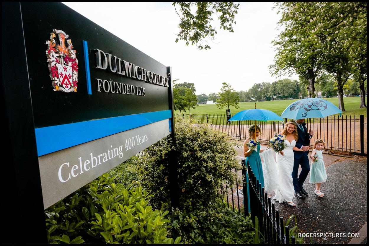 South London Dulwich College wedding