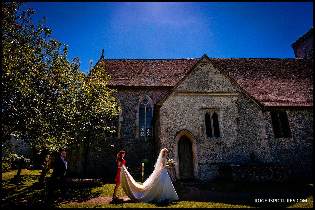 Summer Wedding at Barham Court