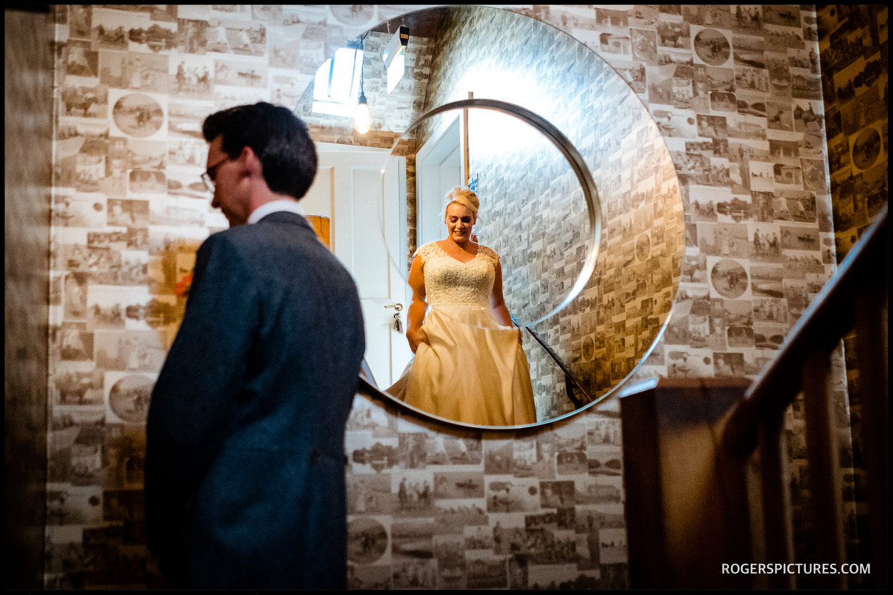 First look at Summer wedding at The Bell in Ticehurst