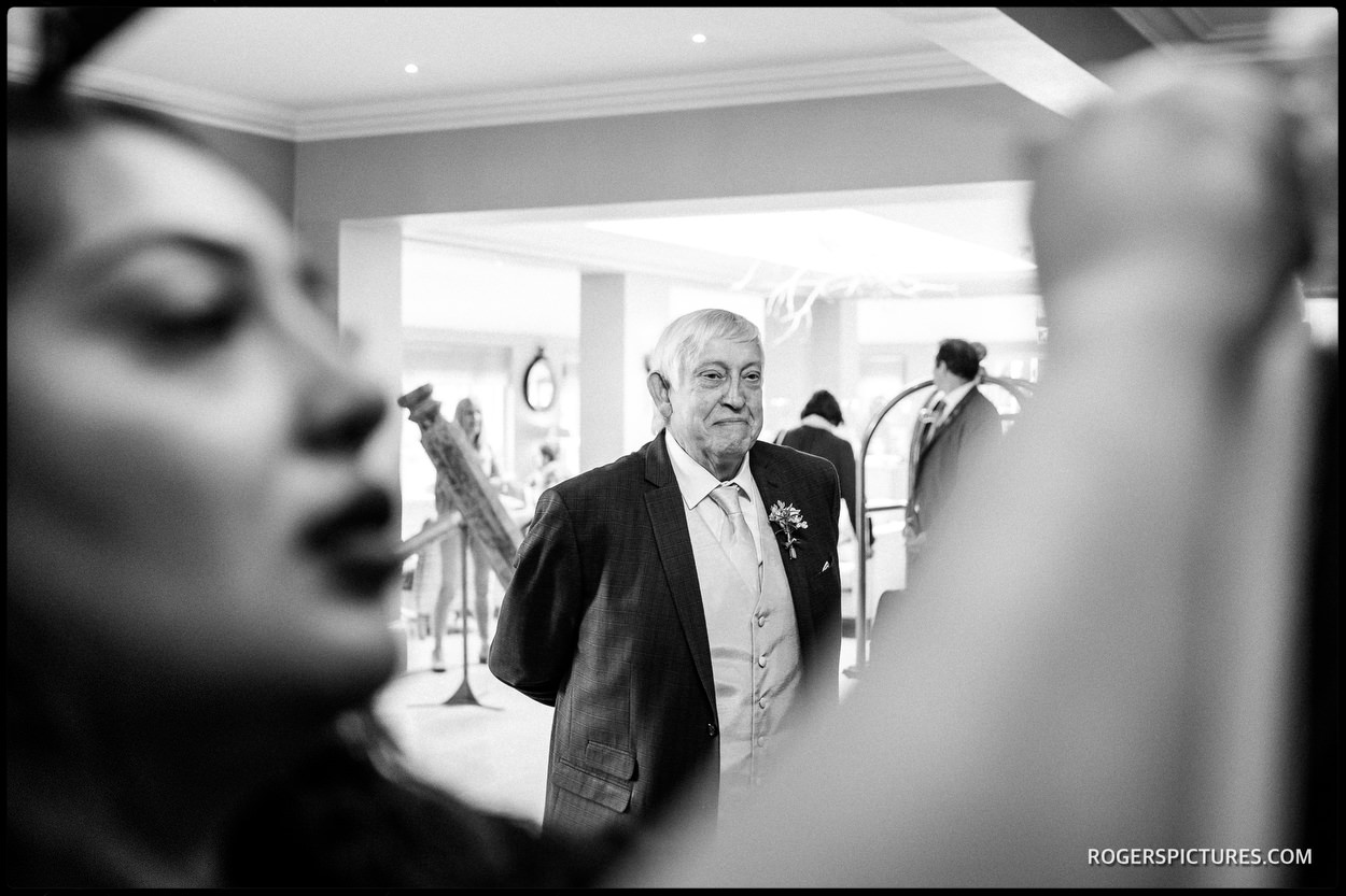 Father of the Bride atThe Vineyard Hotel