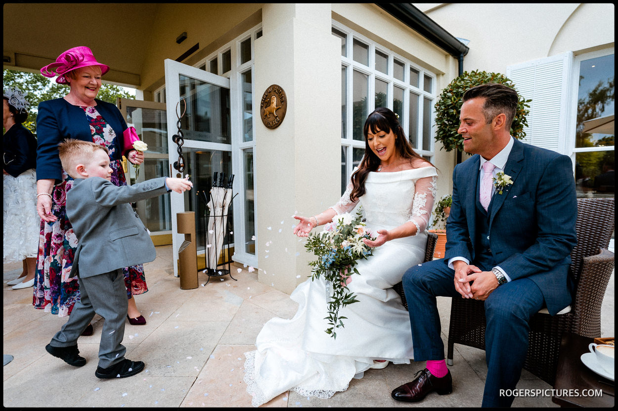 Wedding celebrations in Berkshire