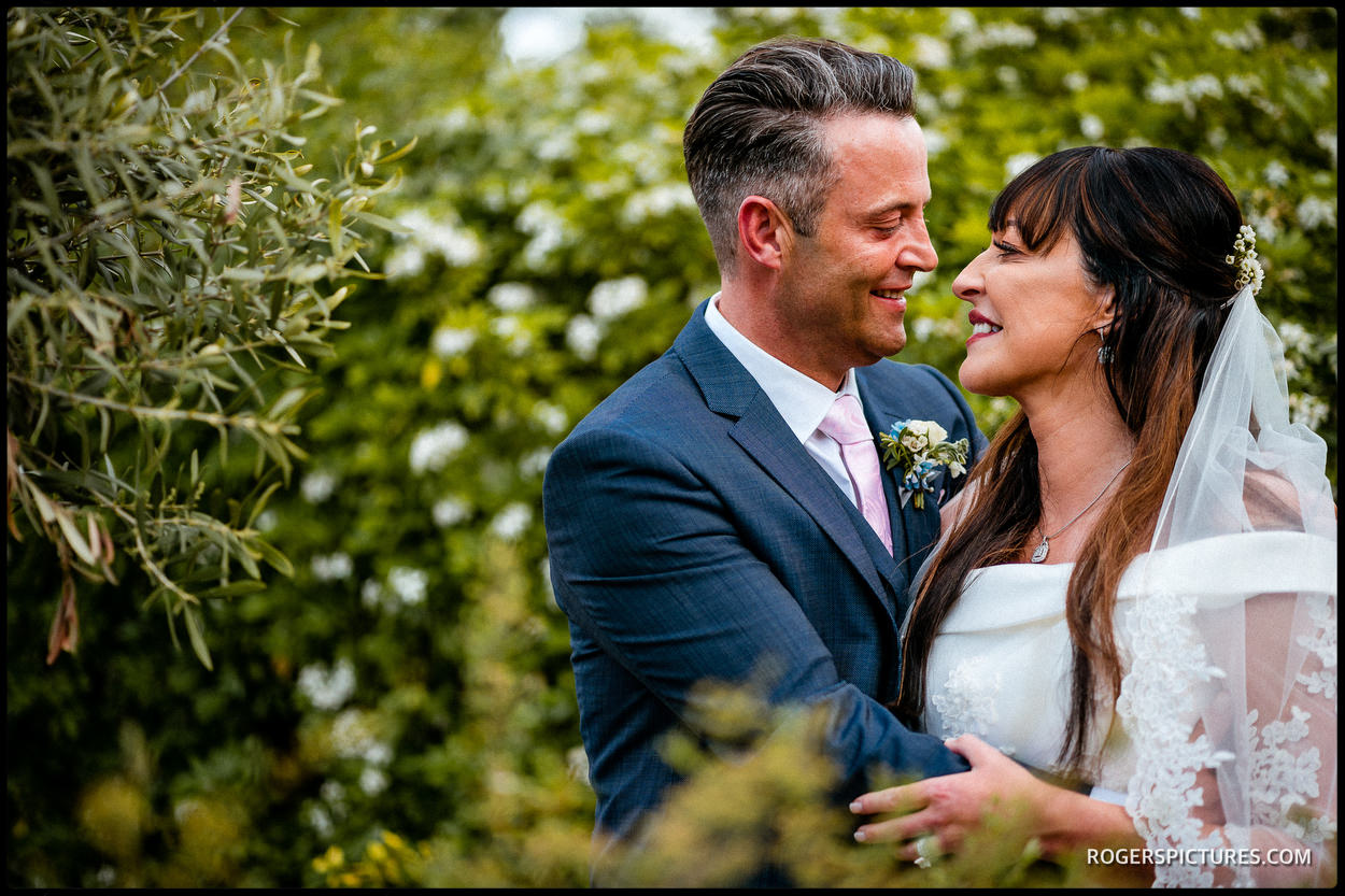 Couple portrait at The Vineyard Hotel