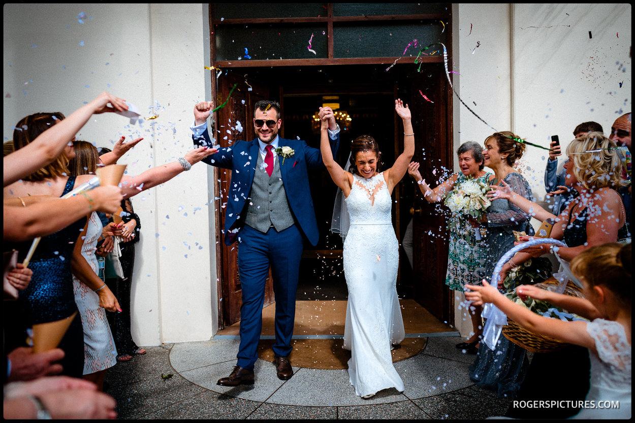Greek wedding in London