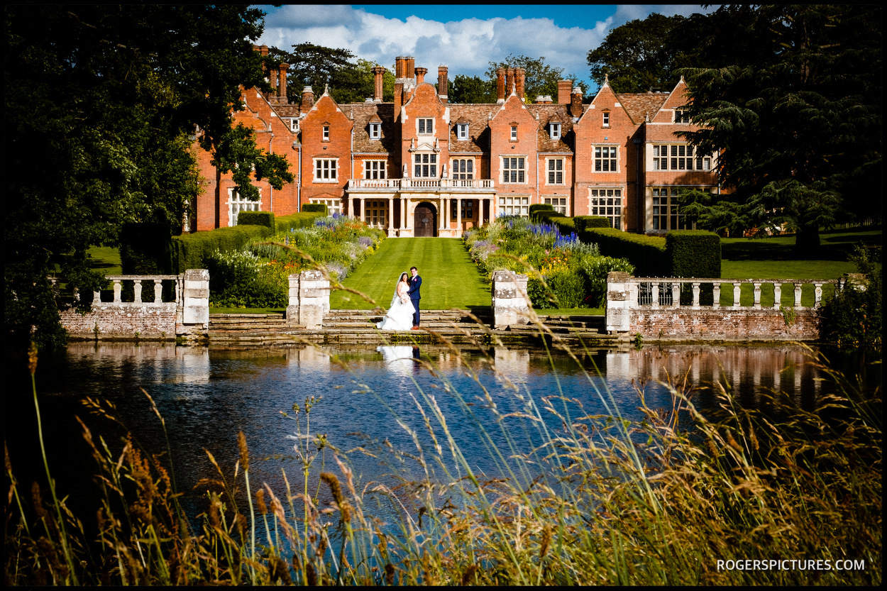 Wedding photo at Longstowe Hall