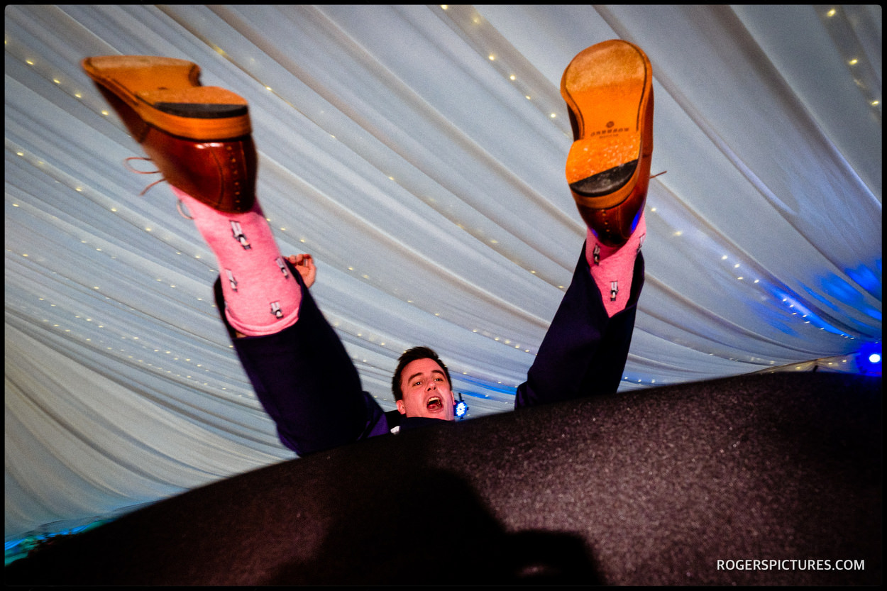 Israeli dancing at Longstowe Hall wedding