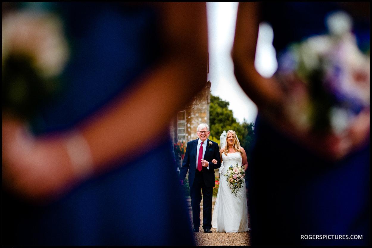 Outdoor wedding at Wadhurst Castle