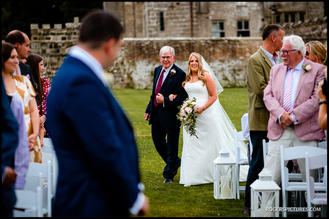 Wadhurst Castle wedding photography
