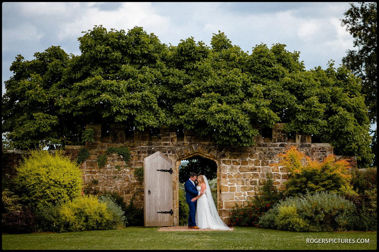 Wedding photos at Wadhurst Castle in Sussex
