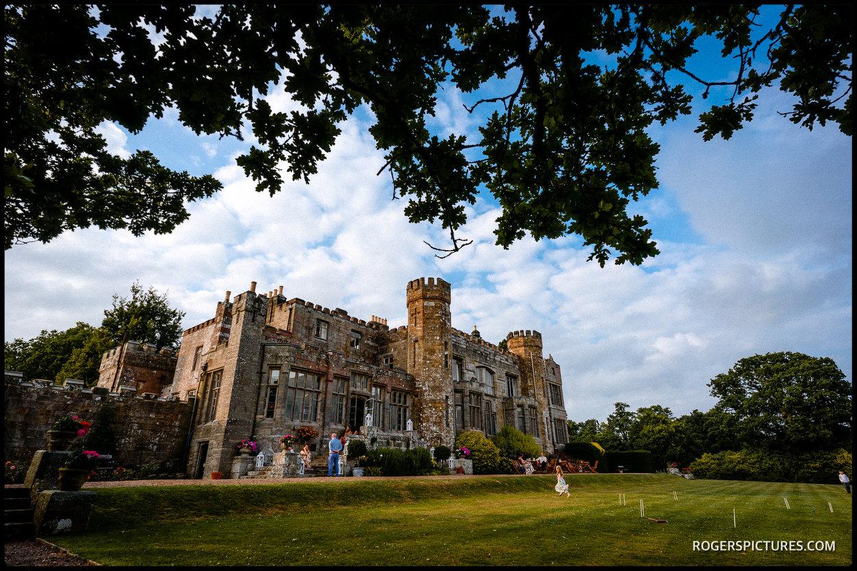 Wadhurst Castle wedding venue in Sussex