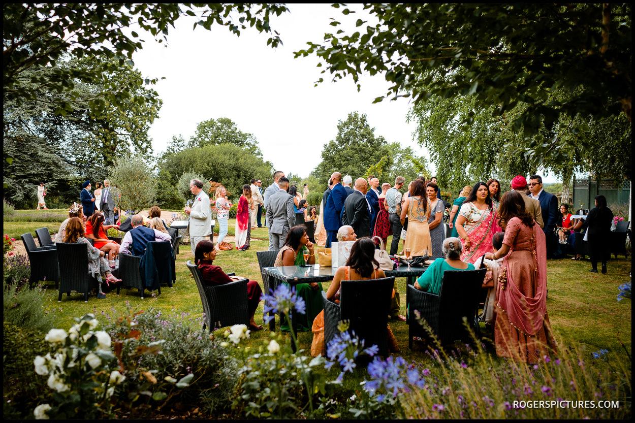 Unposed wedding Photograph