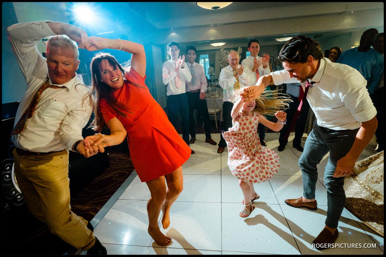 Wedding photography at Oatlands Park Hotel
