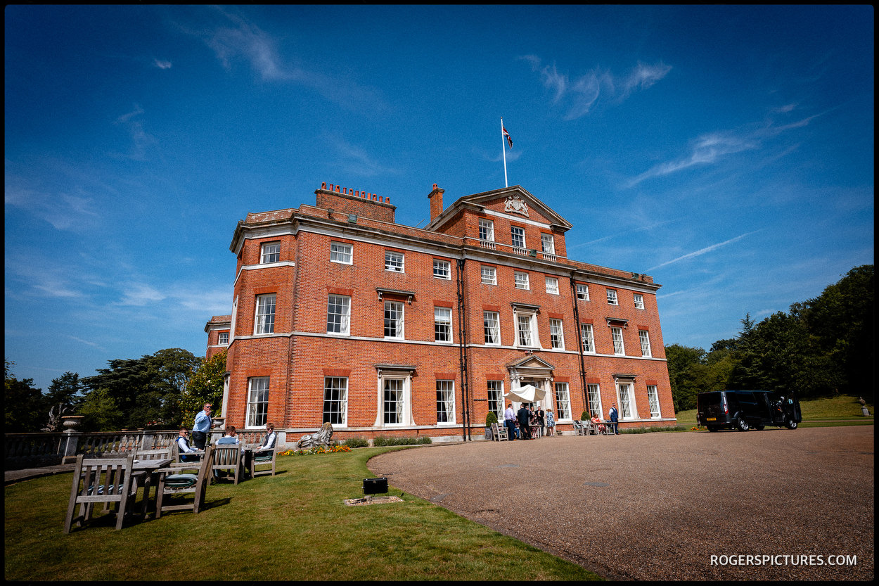 Brocket Hall wedding venue in Hertfordshire