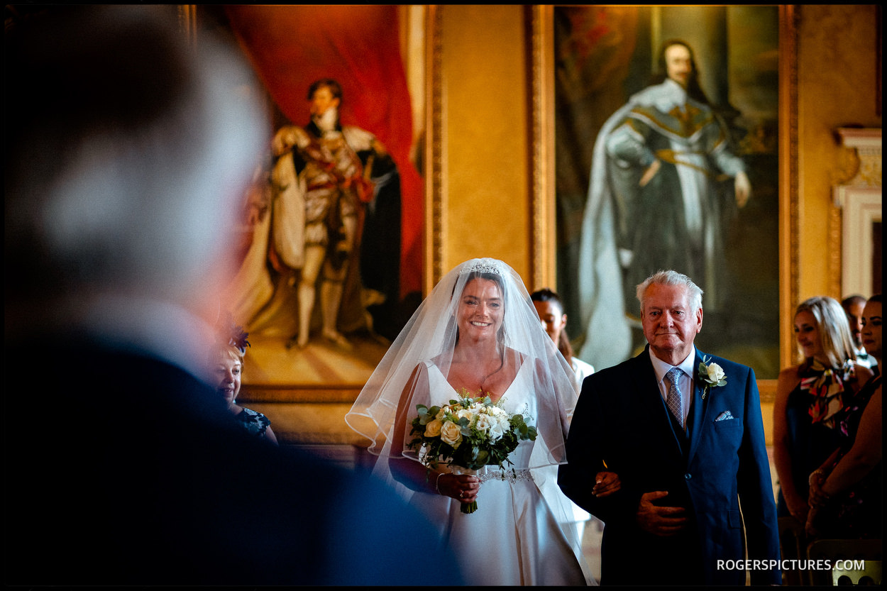 Getting married at Brocket Hall